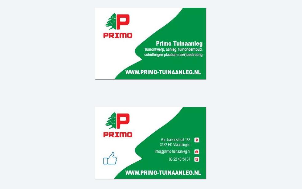 Visitekaartjes – Primo