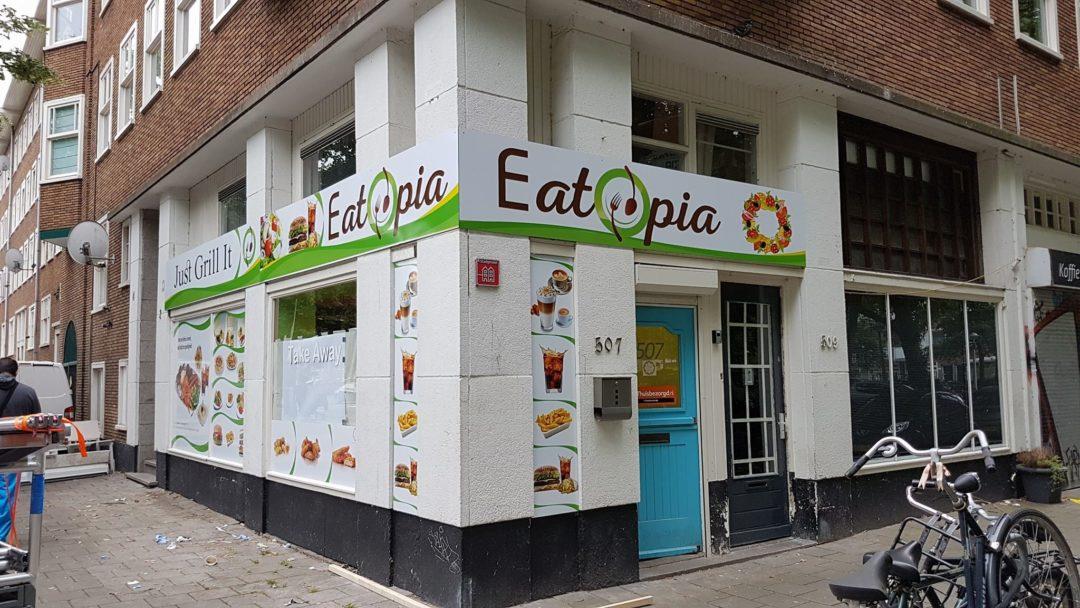 Reclameborden – Eatopia