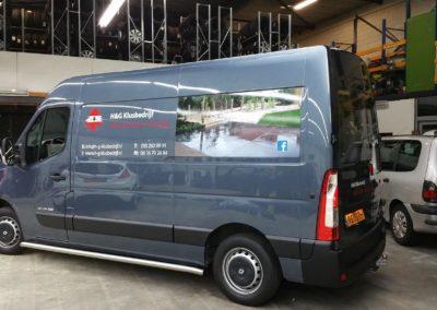 Autobelettering – H&G Klusbedrijf