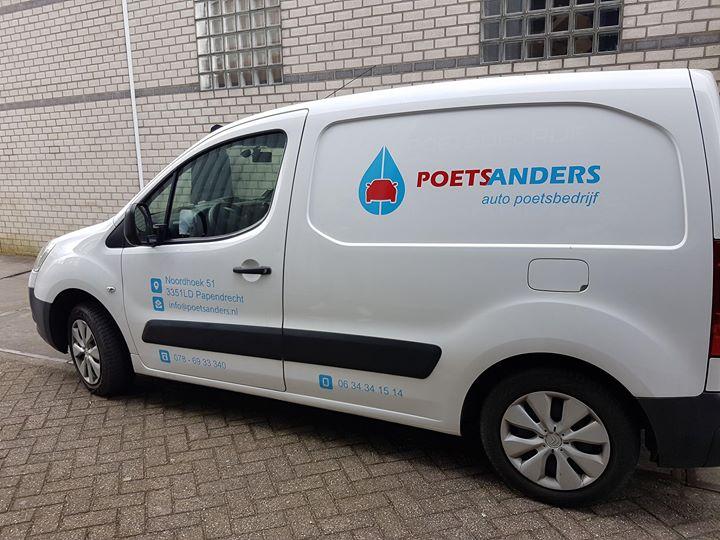 Autobelettering – Poets Anders