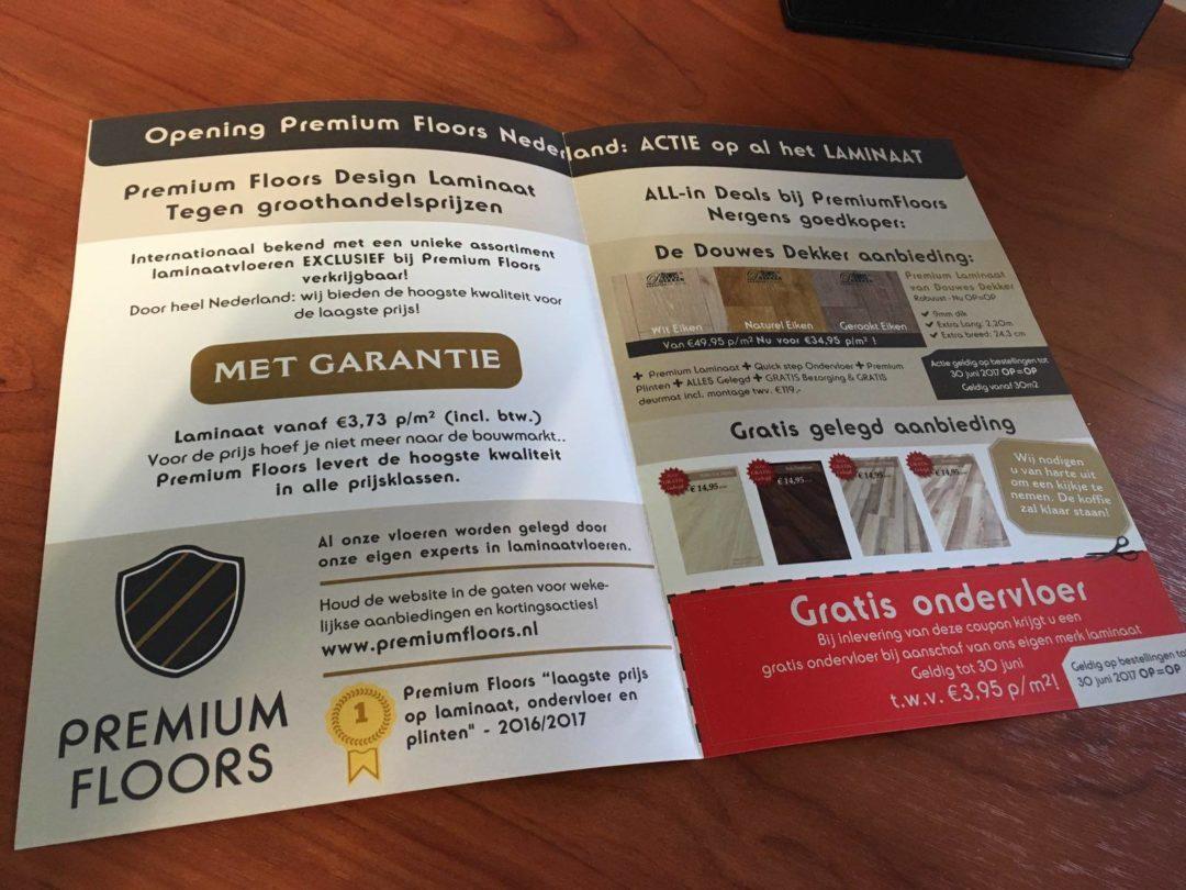 Flyer – Premium Floors