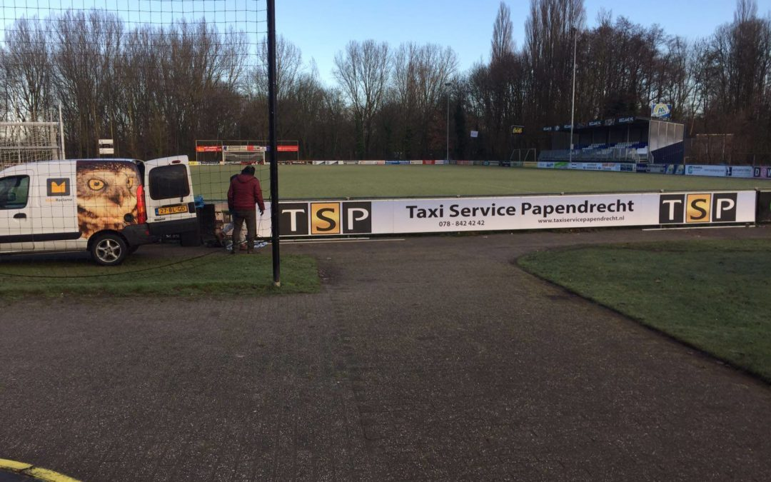 Reclamebord – Taxi Service Papendrecht