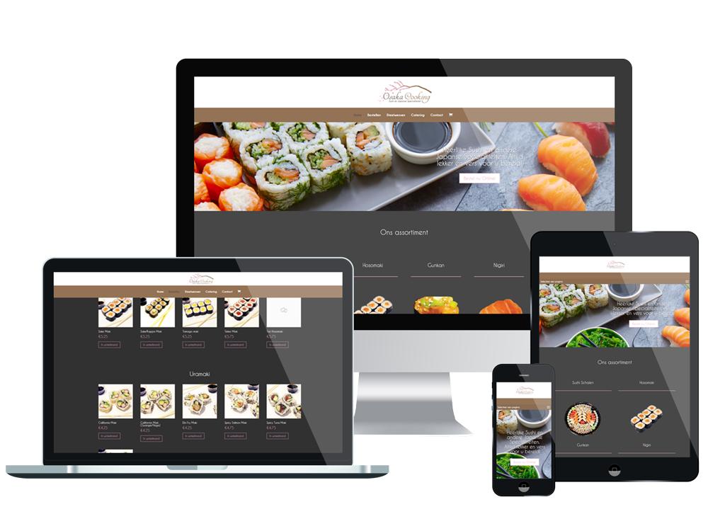 Webshop – Osaka Cooking