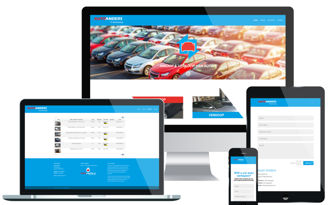 Website – Auto Anders