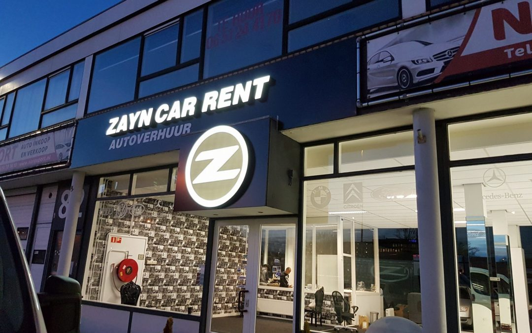 Lichtletters – Zayn Carrent